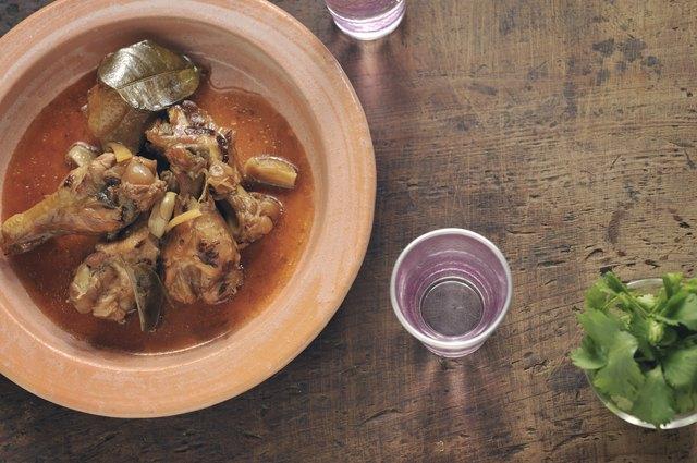 Chicken drumstick dish