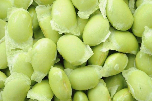 Edamame soy beans shelled