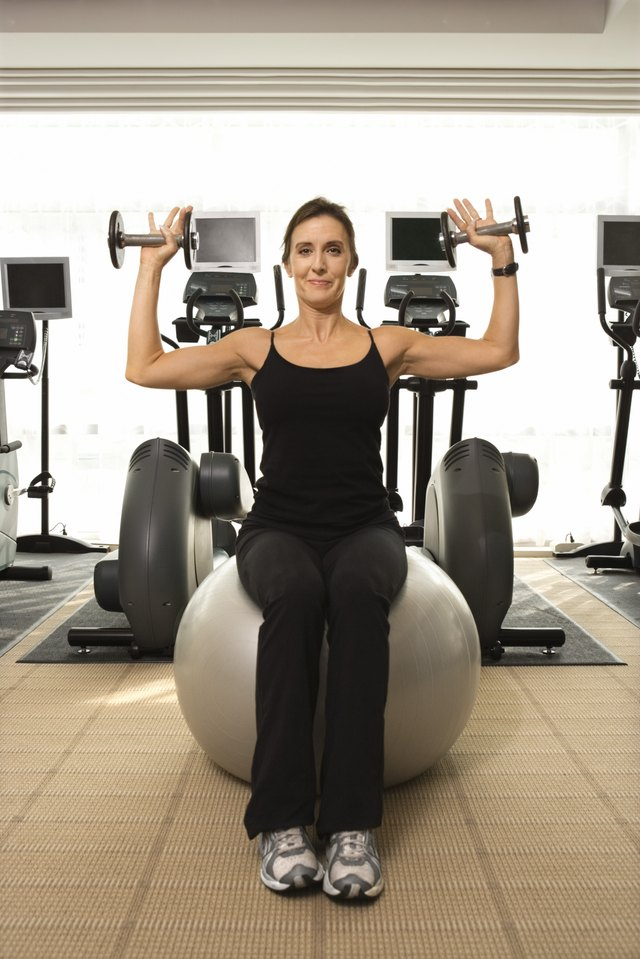 The Shoulder Press and a Dumbbell Alternative
