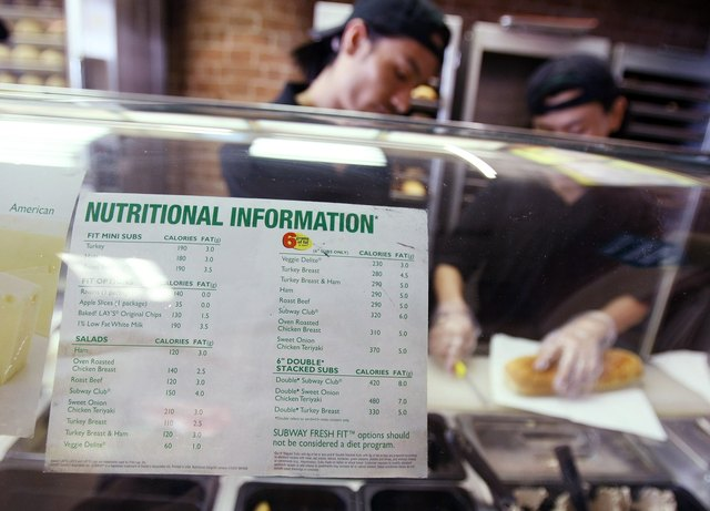 New NYC Law Requires Calorie Counts Posted At Chain Restaurants