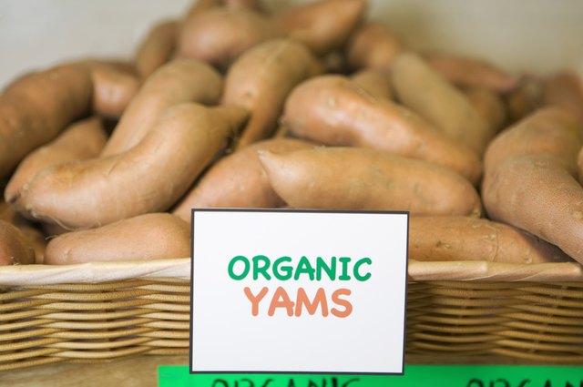 Organic yams