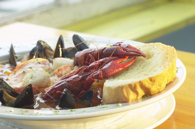Shellfish dinner