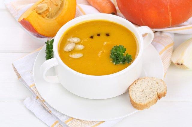 The Calories in Pumpkin Soup