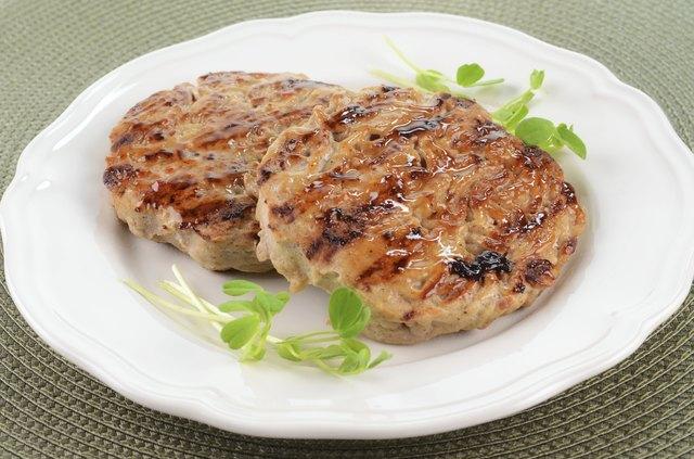Turkey Burger Nutrition Information