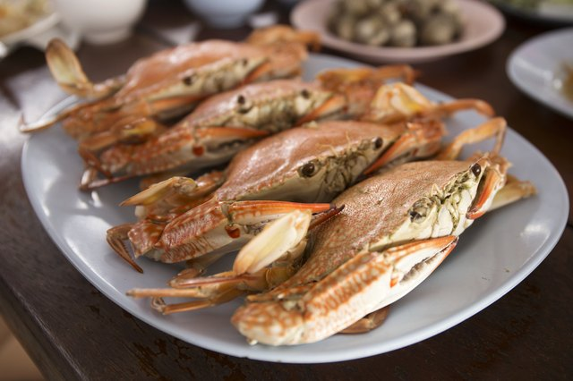 Steam Dungeness crab ,ready to eat!