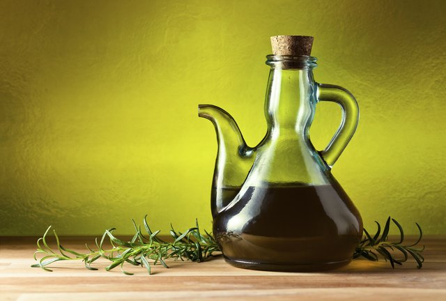 jug with olive oil