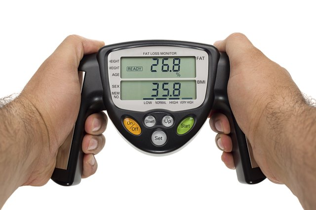 Body fat loss monitor