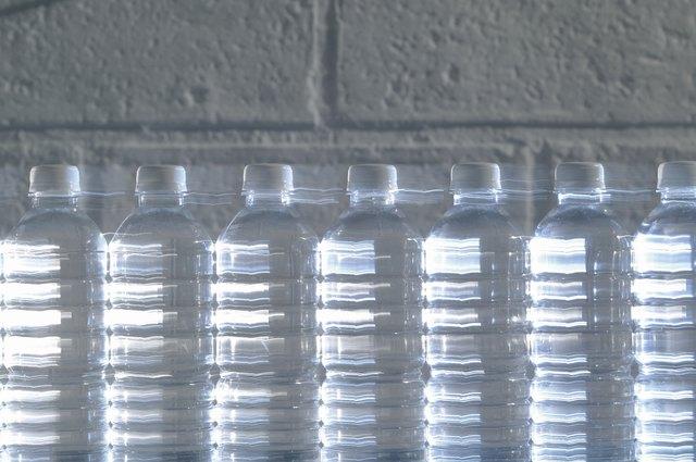 Bottles of water