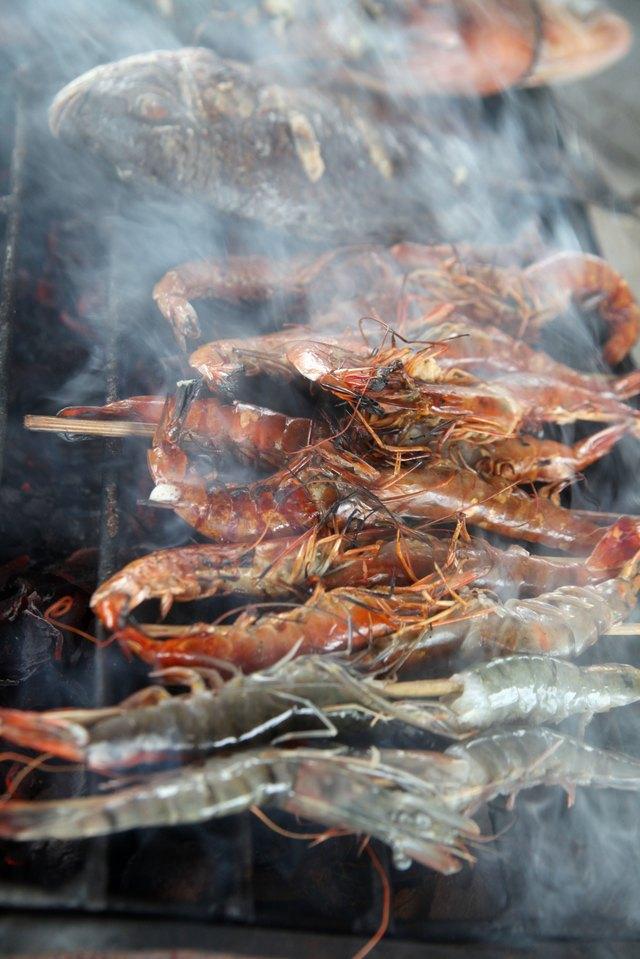 barbecue prawn