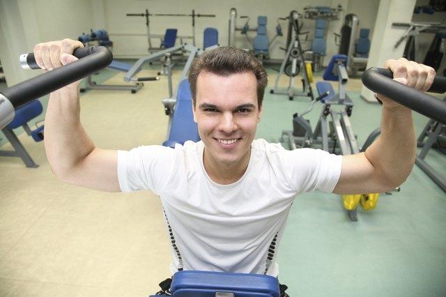 gym man in health club
