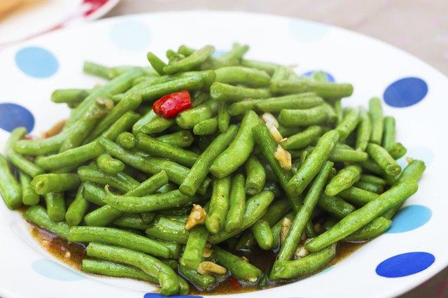 stir fried common beans