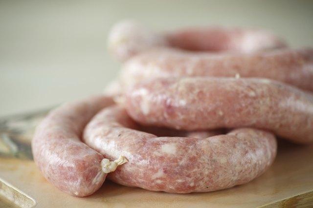 home-made sausage