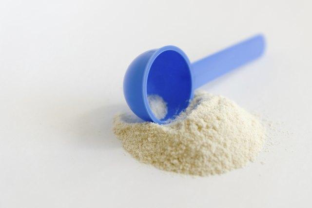 baby milk powder with dispenser