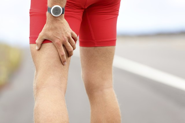Hamstring sprain or cramps