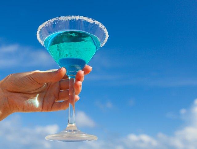 Calories in UV Blue Vodka