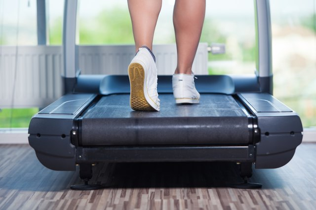 How to Slim Down Your Hips by Using a Treadmill