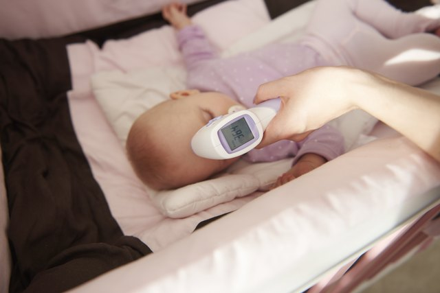 Control temperature of little girl