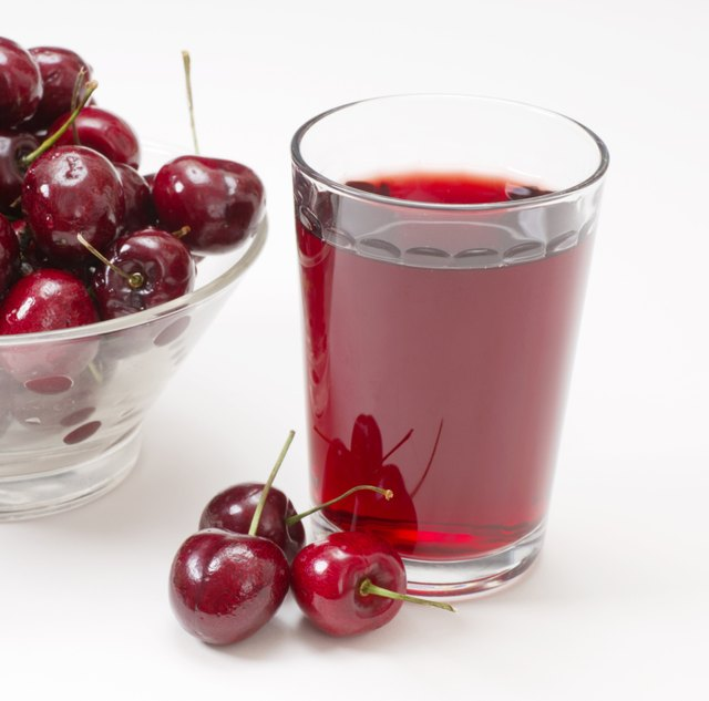 Grass of Cherry Juice