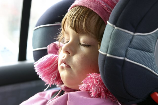 sleeping in a carseat