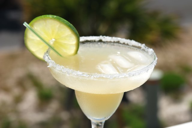 The Calories in a Margarita Drink