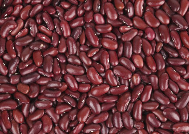 Soaking Red Beans Overnight in the Refrigerator
