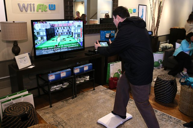 Wii Fit U Brings Fun And Fitness To The Nintendo Chalet During 2014 Sundance Film Festival - Day 1 - 2014 Park City