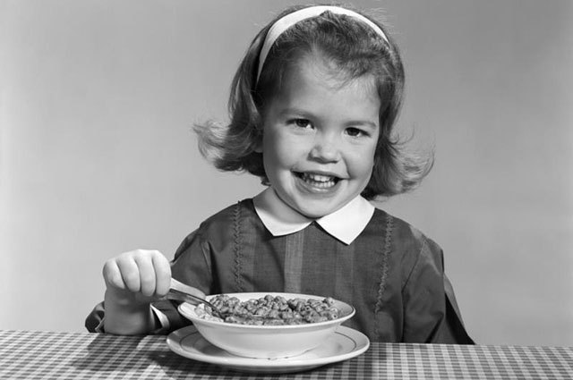 """Cold cereal has been marketed to Americans as a """"healthy breakfast"""" since the 1950s."""