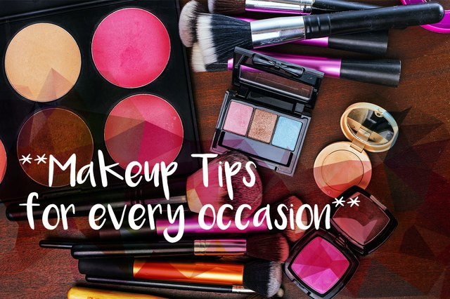 Make sure your makeup is on point for your next big event.