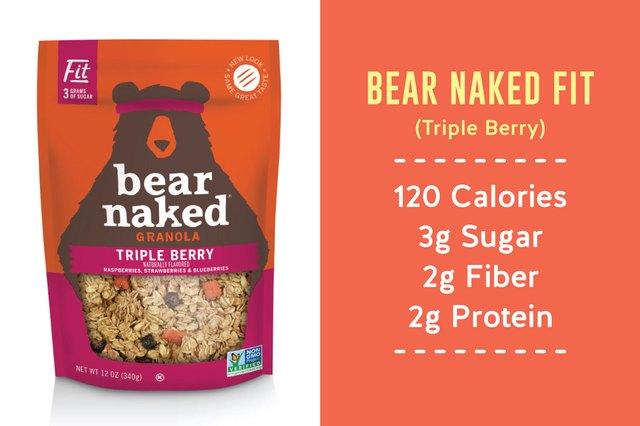 Bear Naked Triple Berry granola