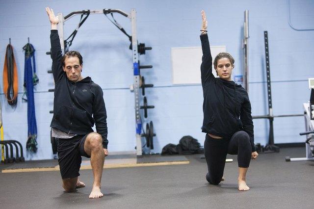 Half-Kneeling Shoulder Controlled Articulation