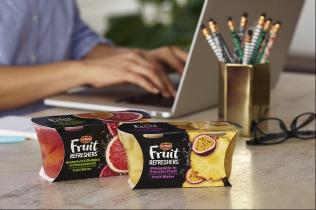 del monte fruit and chia fruit cup
