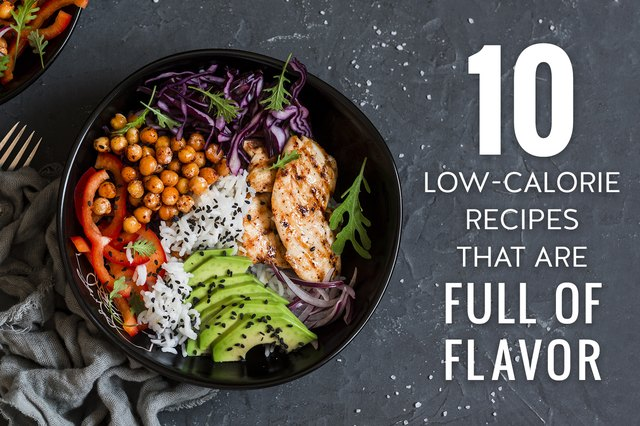 Low-Calorie Recipes That Are Full of Flavor