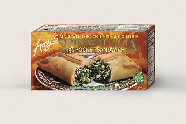 Amy's Spinach Feta In A Pocket Sandwich