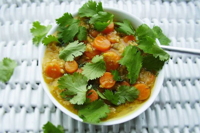 Ginger, Carrot and Herb Oatmeal Savory Oatmeal Recipe