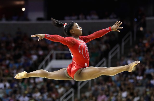 Simone Biles Olympic Trials