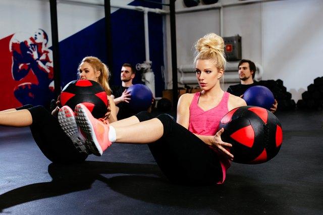 group workout class