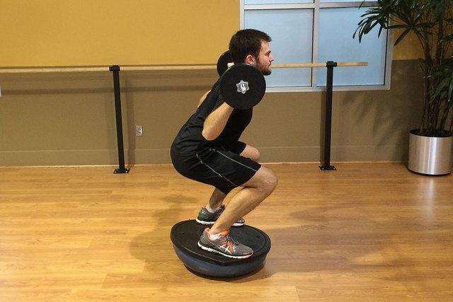 Togu Ball Core Exercise