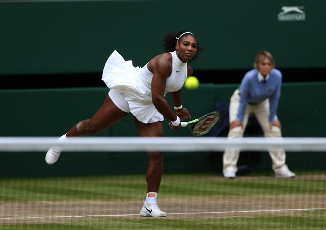 Serena Williams Wimbledon Grand Slam 2016