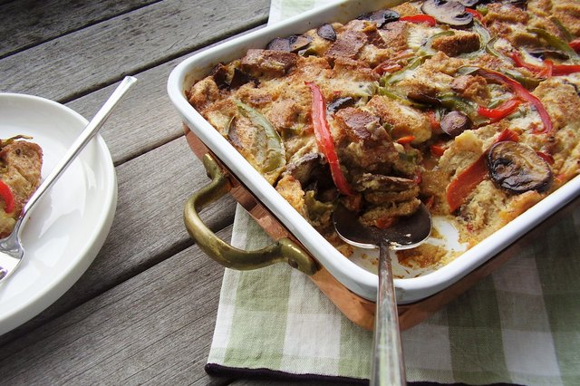 Special-Occasion Vegetable Egg Strata