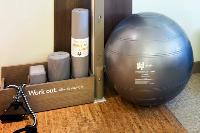 Even Hotels workout equipments