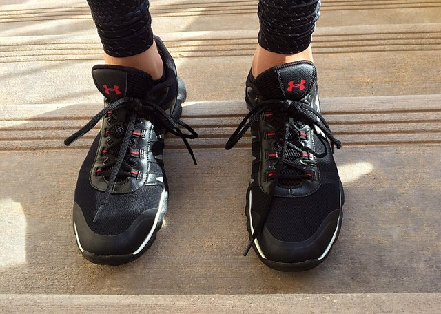 With a comfortable pair of sneakers, you can start using the StairMaster.r