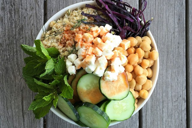 Bloody Mary Chickpea Breakfast Superfood Bowl