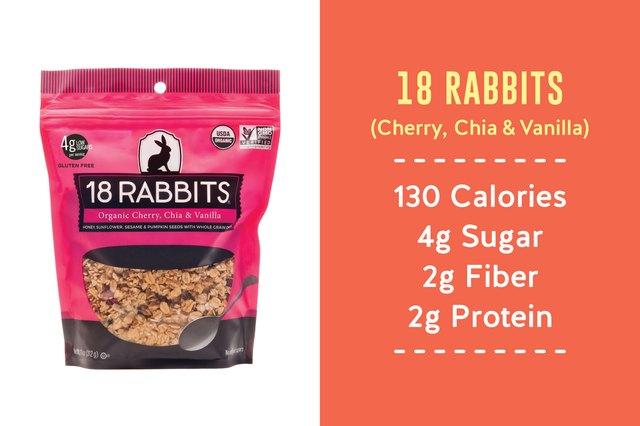 18 Rabbits Cherry, Chia & Vanilla granola