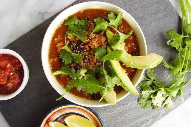Mexican Black Bean and Avocado Savory Oatmeal