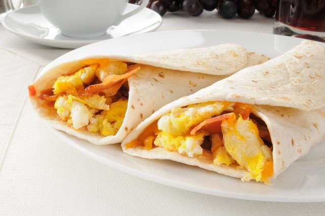 Try our recipe below for the Three-Minute Breakfast Burrito.