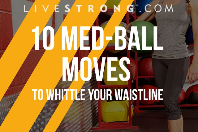 One-handed Push-up on medicine ball