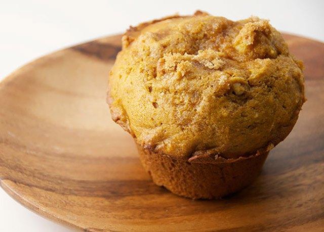 2 minute gluten free paleo pumpkin microwave muffins. Black Bedroom Furniture Sets. Home Design Ideas