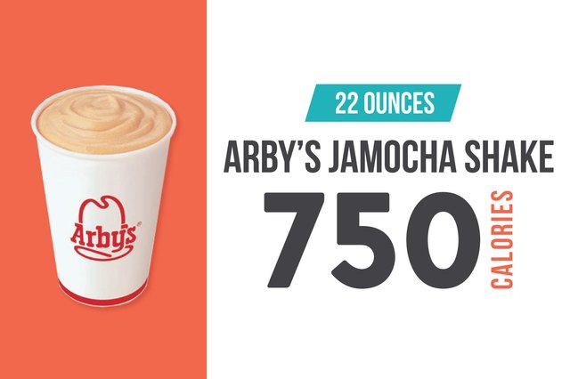 Arby's Jamocha Shake