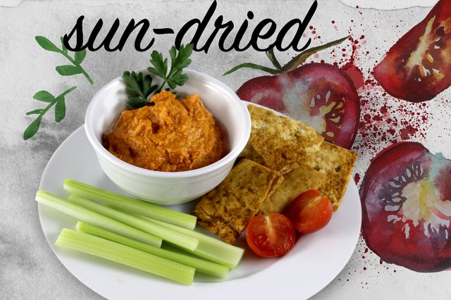 How to make Eggcellent Sun-Dried Tomato Hummus