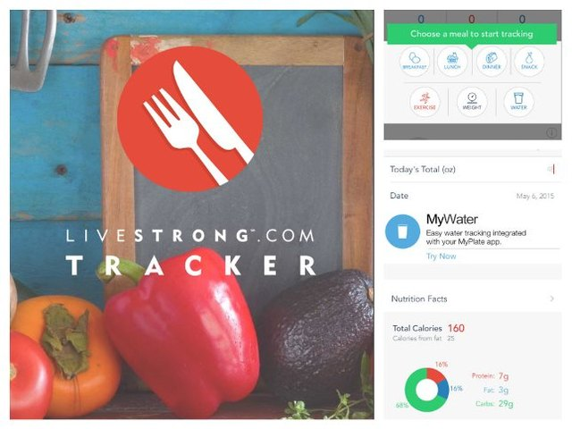 Getting in shape is as easy as tracking calories on the LIVESTRONG Calorie Tracker app for iPhone.